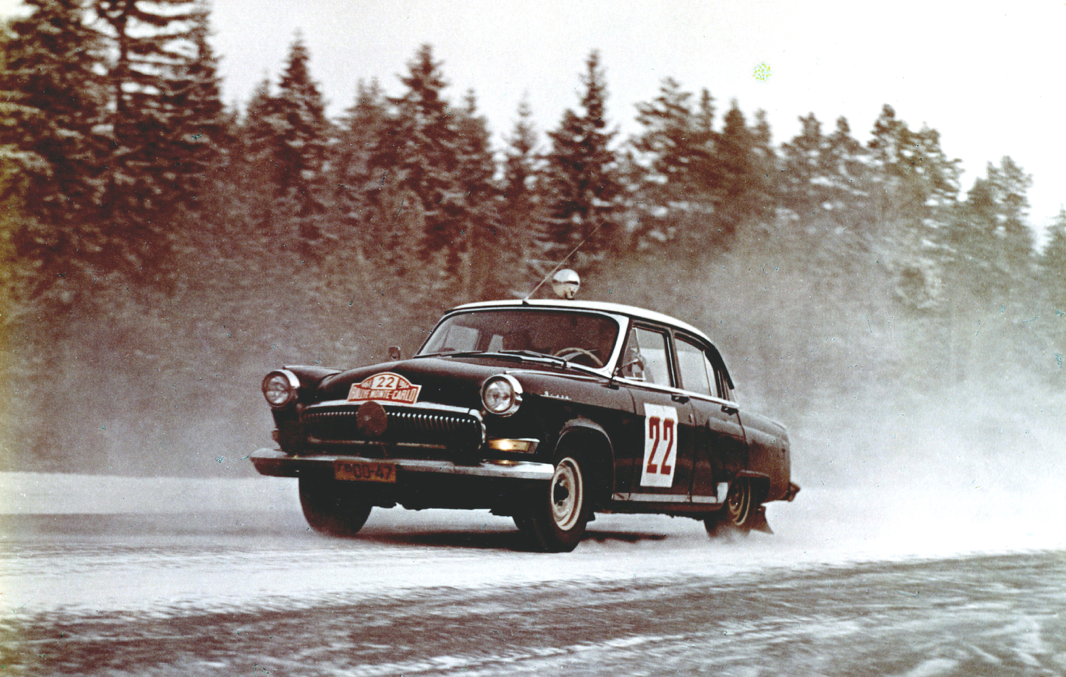 The Volga M21: iconic Russian cars ressurecting in the Monte Carlo Historic Rally