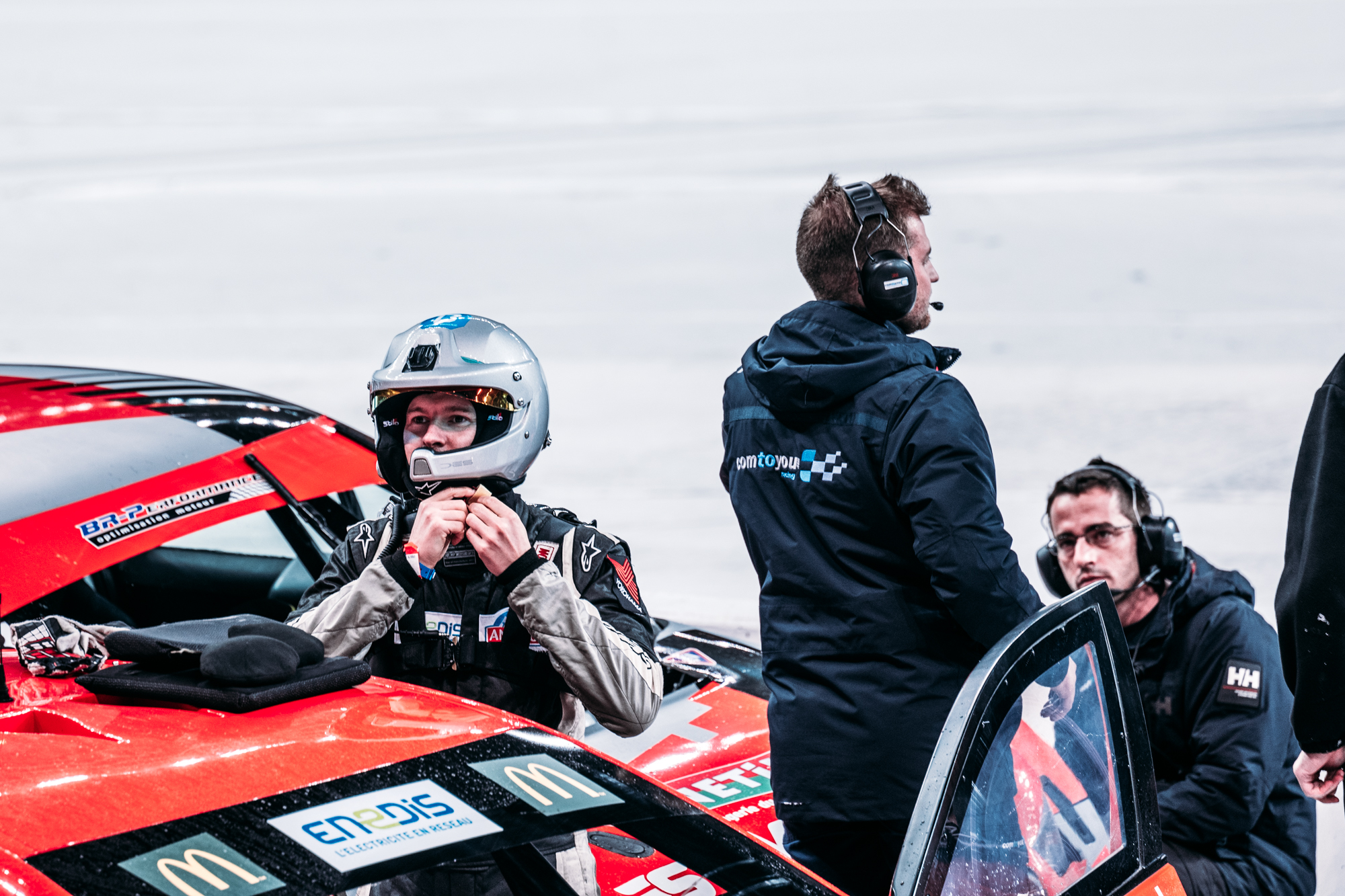 Last year you raced a petrol Andros car, now you're racing an EV. They go just as fast when you look at the timetable, but I guess they are totally different when it comes to driving?