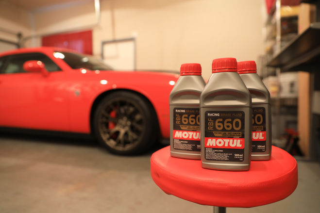 Taming a Hellcat with Motul RBF 660