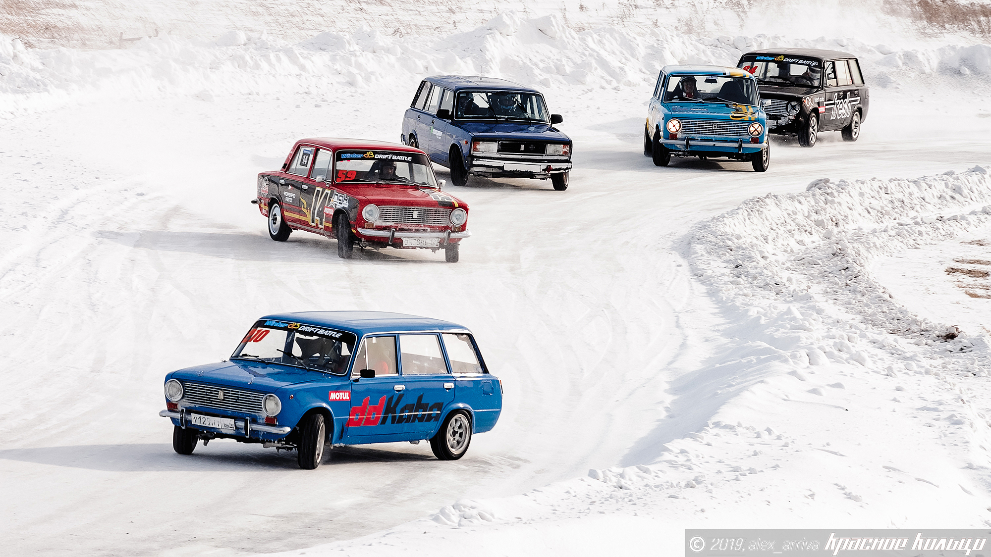 Kristaps, how did you find yourself drifting Lada's in Siberia?