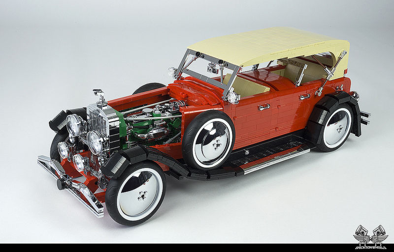 The difference between men and boys, is the speed of their toys: the art of LEGO scale modeling