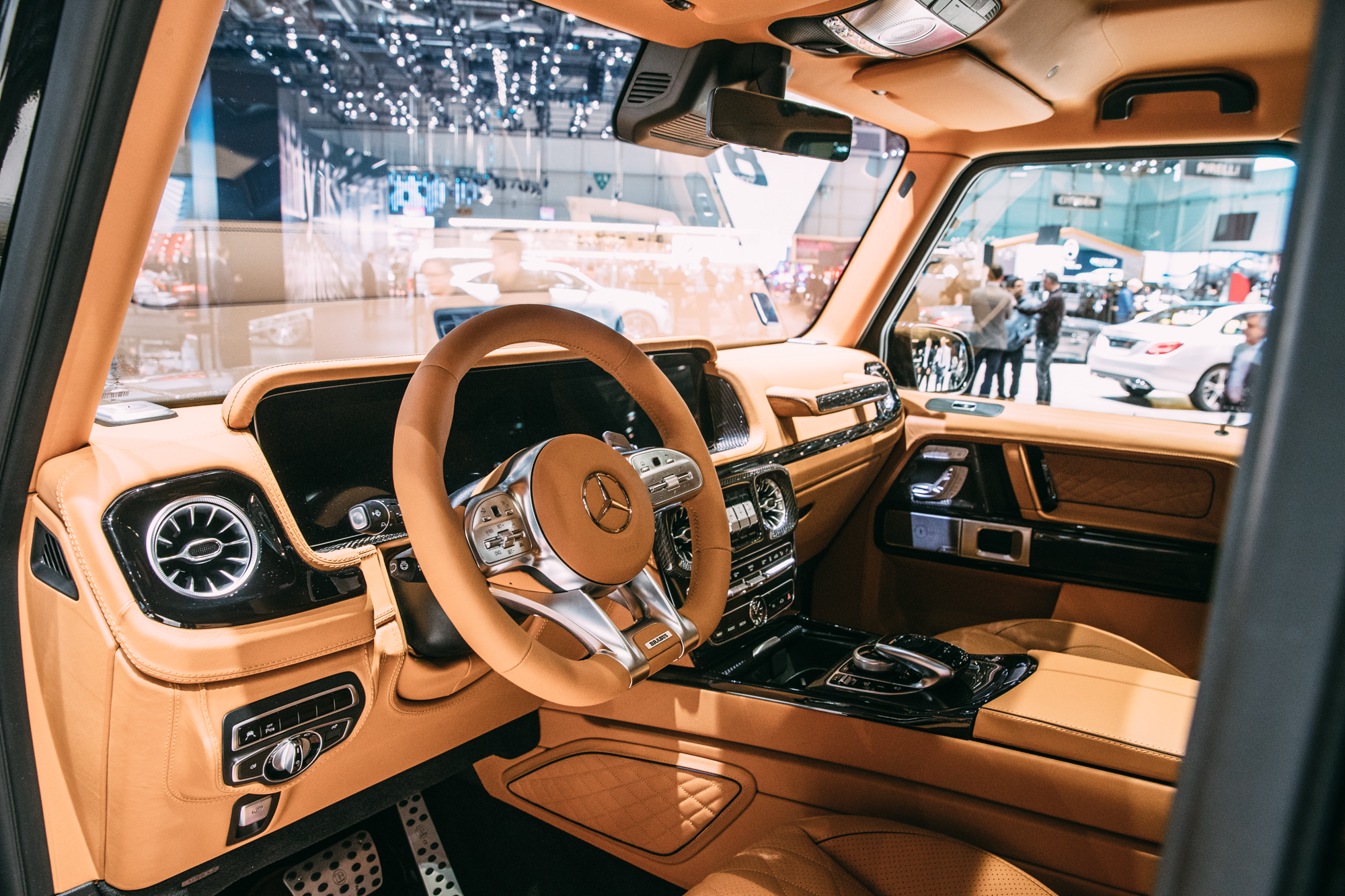 What is the process of converting a regular Mercedes into a Brabus?