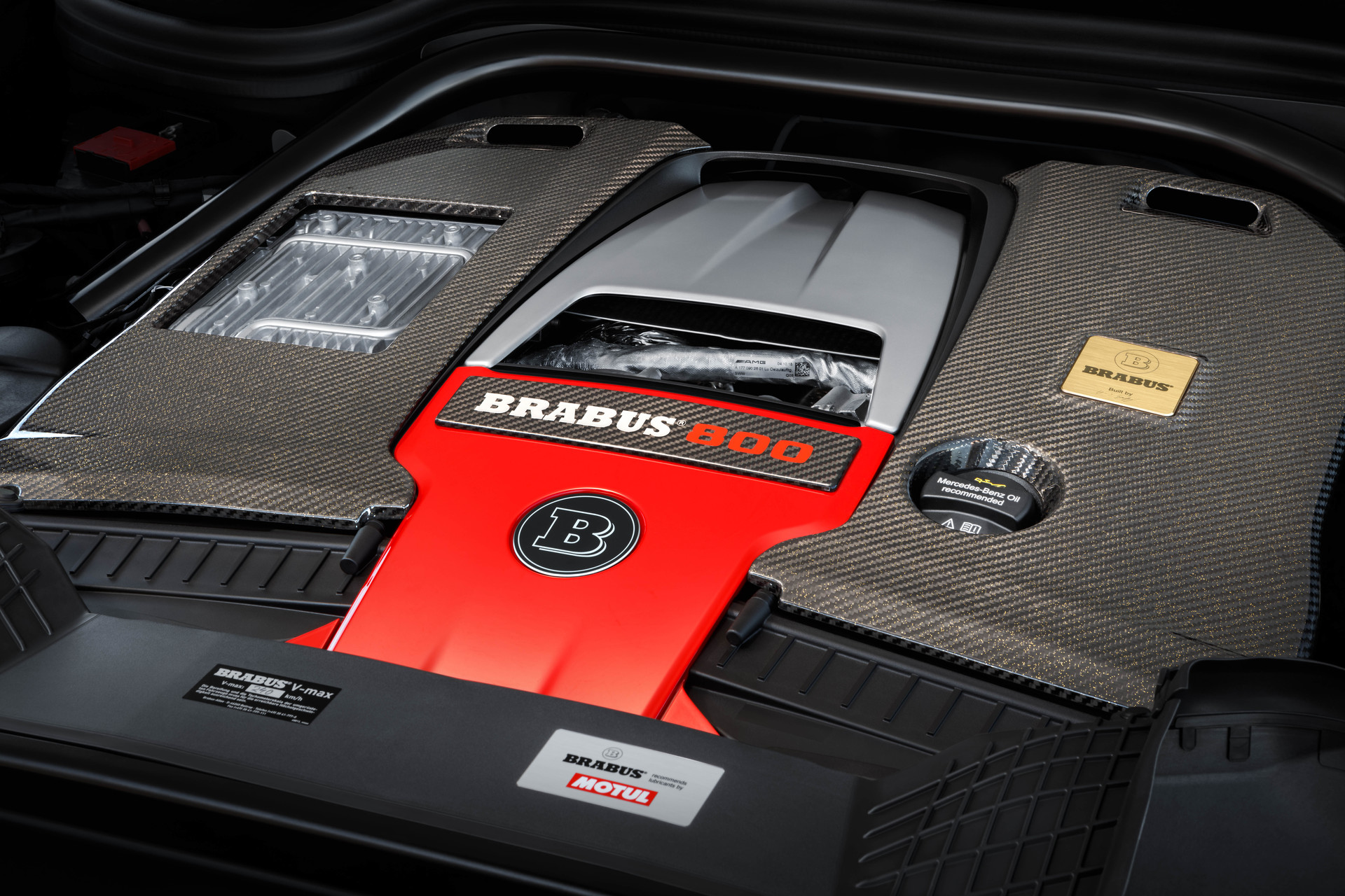 What value does Motul oil bring to Brabus?