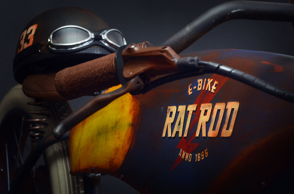 THE COOLEST E-BIKESYOU'LL EVER SEE. INTRODUCING THE RAT ROD E-BIKES