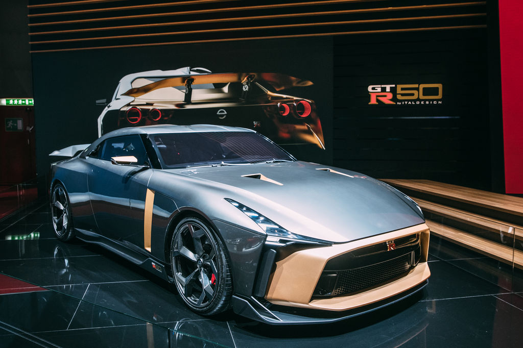 When designing a performance car like the GT-R50, how do you make sure that the car is both attractive and powerful: after all it has to put 700 horsepower on the road?