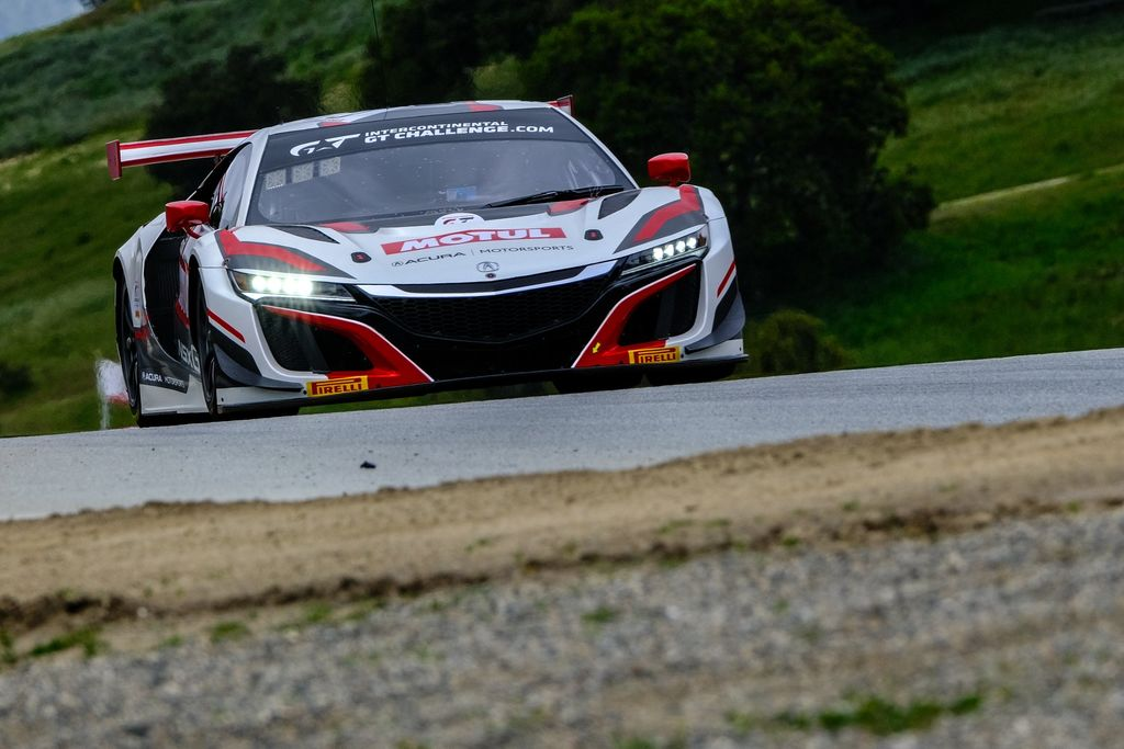 Acura NSX GTD has had a lot of success in IMSA racing and came second in last year's championship. Not quite the same success as the Honda experienced in Europe. Why has there been such a difference?