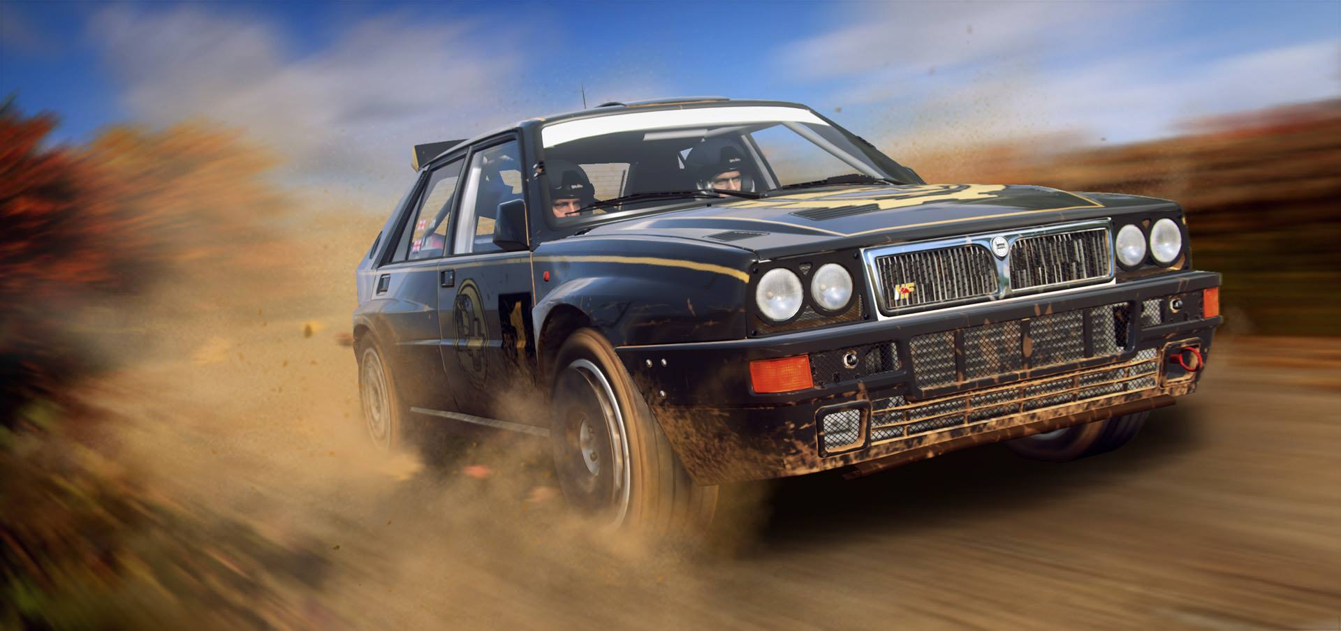 DIRT RALLY 2.0: YOU MIGHT WANT TO ADD MUD FLAPS TO YOUR TELEVISION!