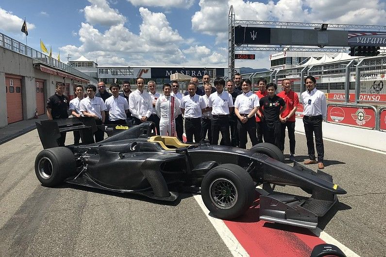 THE SF19 CHASSIS MARKS A NEW ERA IN SUPER FORMULA