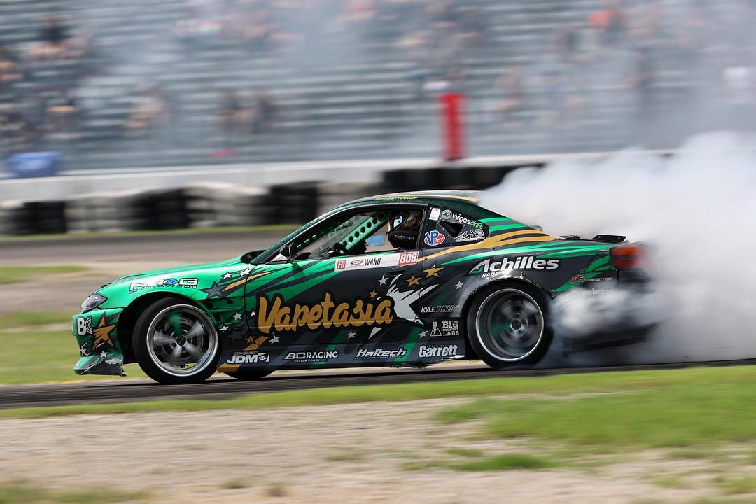 FD is a peculiar championship. Big budget teams like the RTR Mustang team and the Falken team are right up there, but smaller privateer teams such as yours are often competitive.
