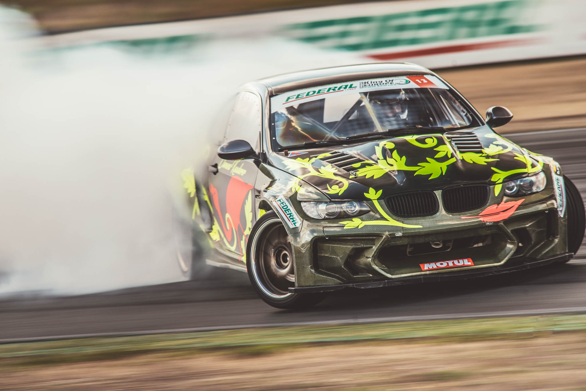 MIKE PROCUREUR HAS BEEN GROWING HIS DRIFT SERIES FOR 15 YEARS
