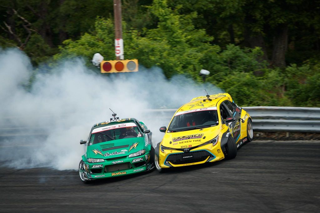 2019 Formula Drift season: Long beach separates the men from the boys !