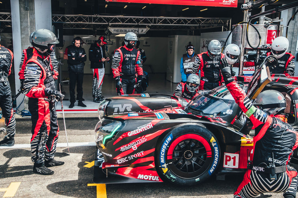 The art of the pit stop with Rebellion Racing