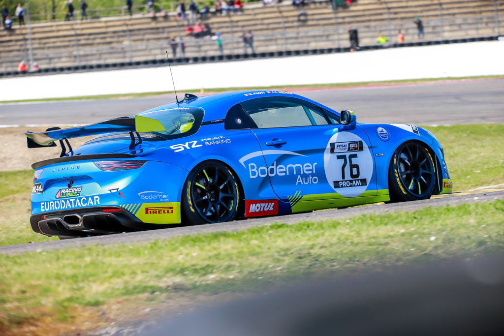 How was the first race weekend at Nogaro?
