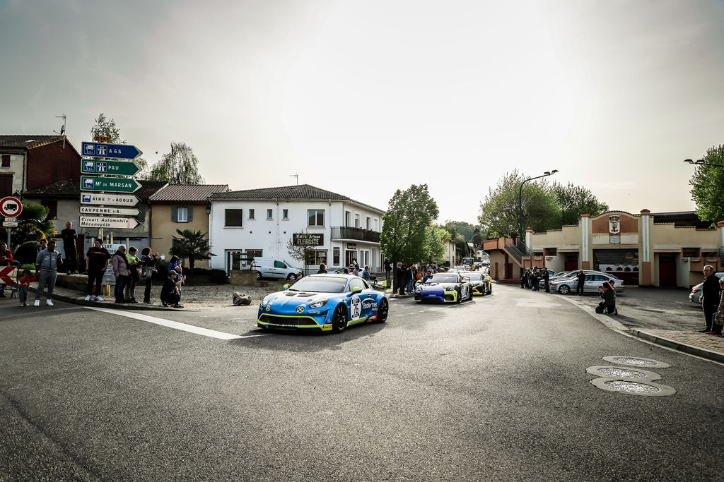 You also recently participated in the Tour Auto in an Alpine. What was that like?