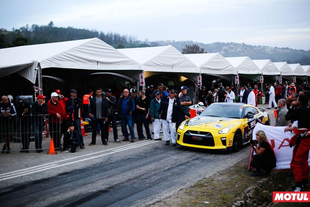 Ten years of roaring engines at the Jaguar Simola Hill climb