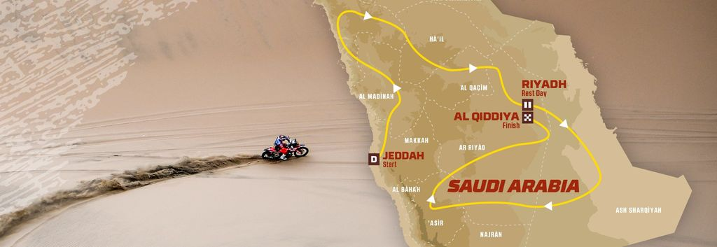 The Dakar 2020 opens a new chapter in Saudi Arabia