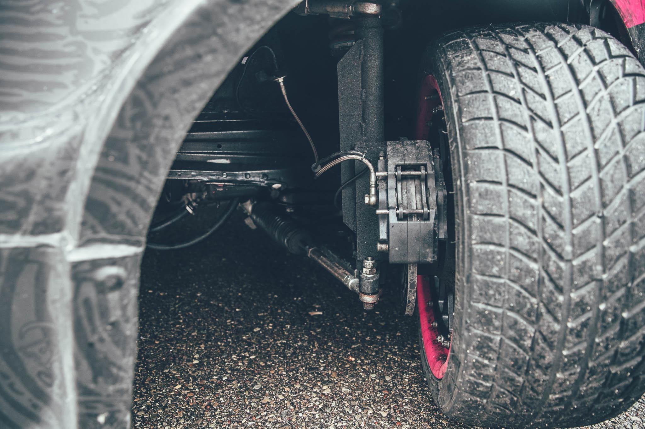 The Anatomy of a Drift Car: Chantzaras Team 22 BMW E36 M3