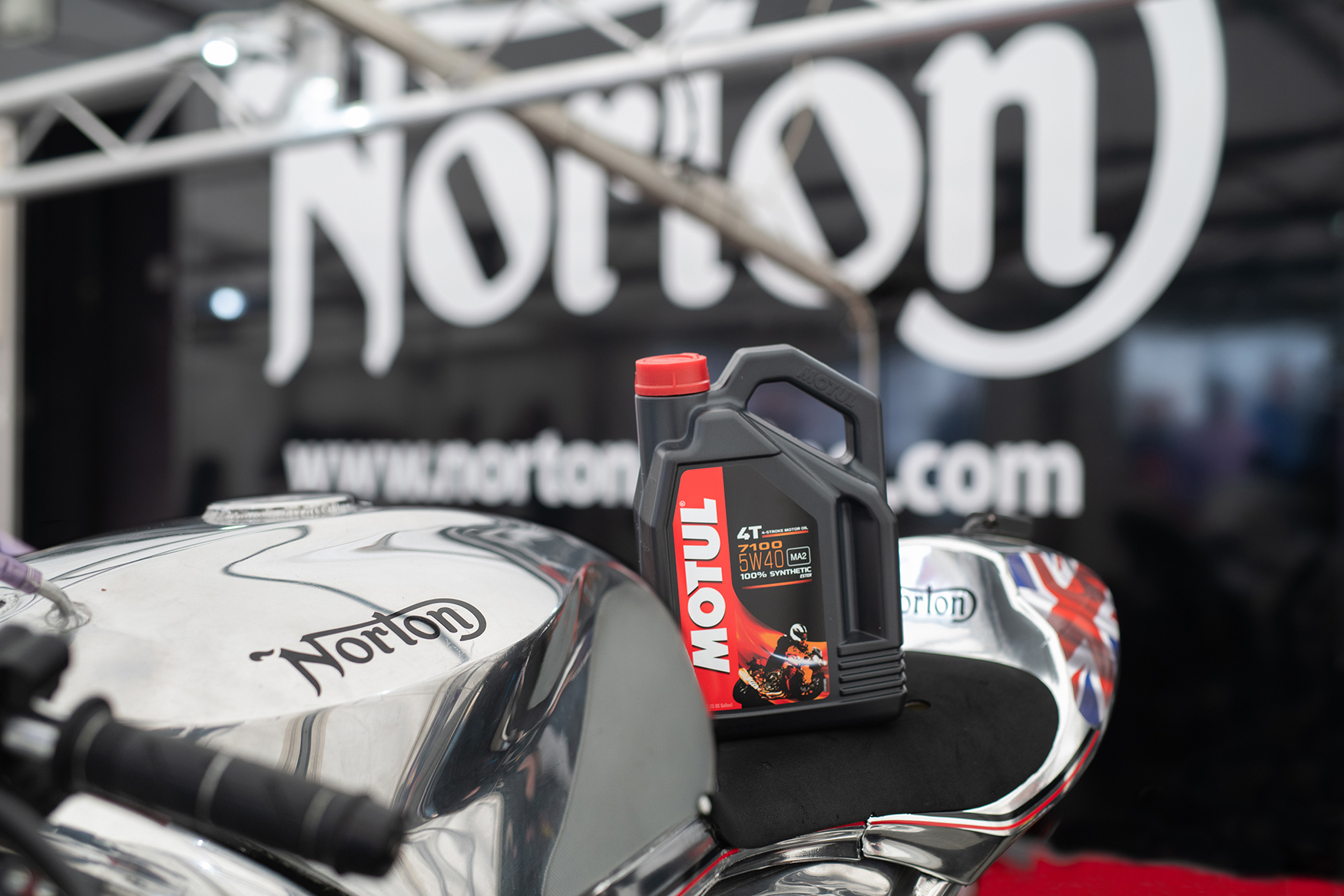 Motul signs an exciting new partnership with Norton