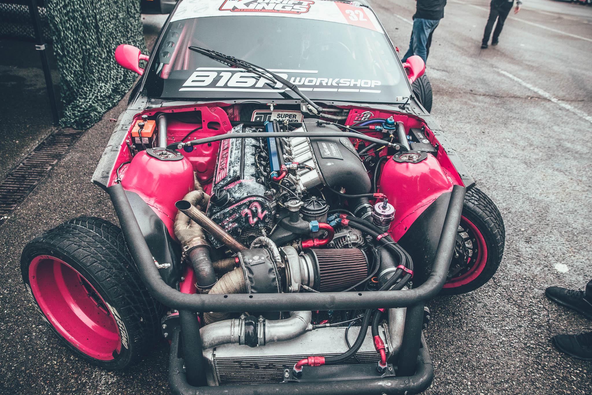 The Anatomy of a Drift Car: Chantzaras Team 22 BMW E36 M3