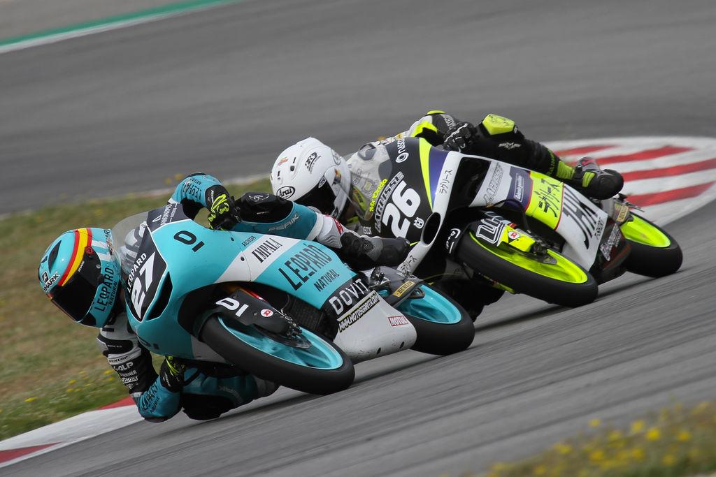Xavi Artigas y el Leopard Impala Junior Team suman un nuevo podio en Montmeló