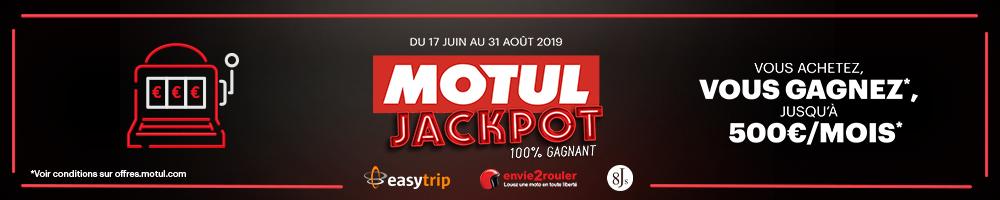 Opération Jackpot Motul 100% Gagnant