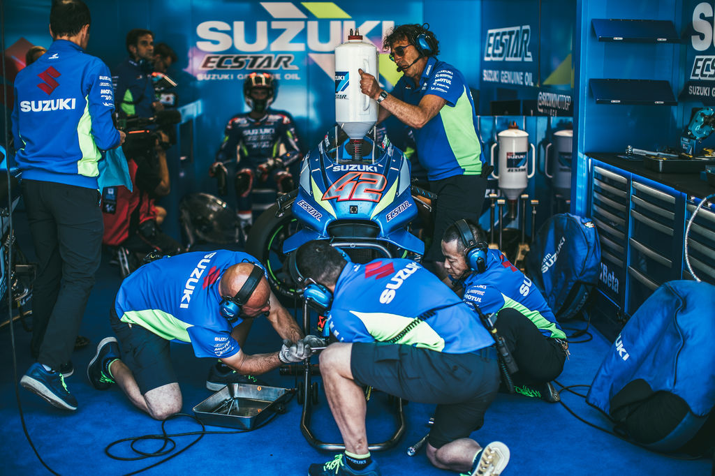 Looking back at Austin, it was an incredible weekend for Suzuki. How much communication is there between all the Suzuki teams?