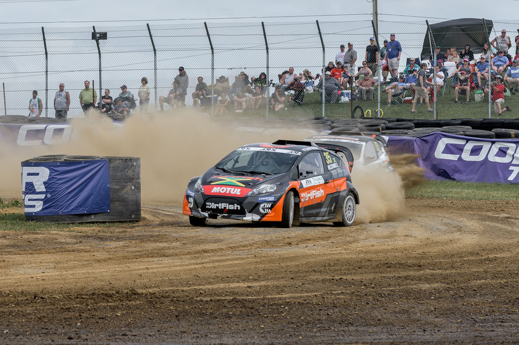 You now race in RX2 in both ARX and FIAWorldRX. What's the biggest difference between racing Europe and the US?