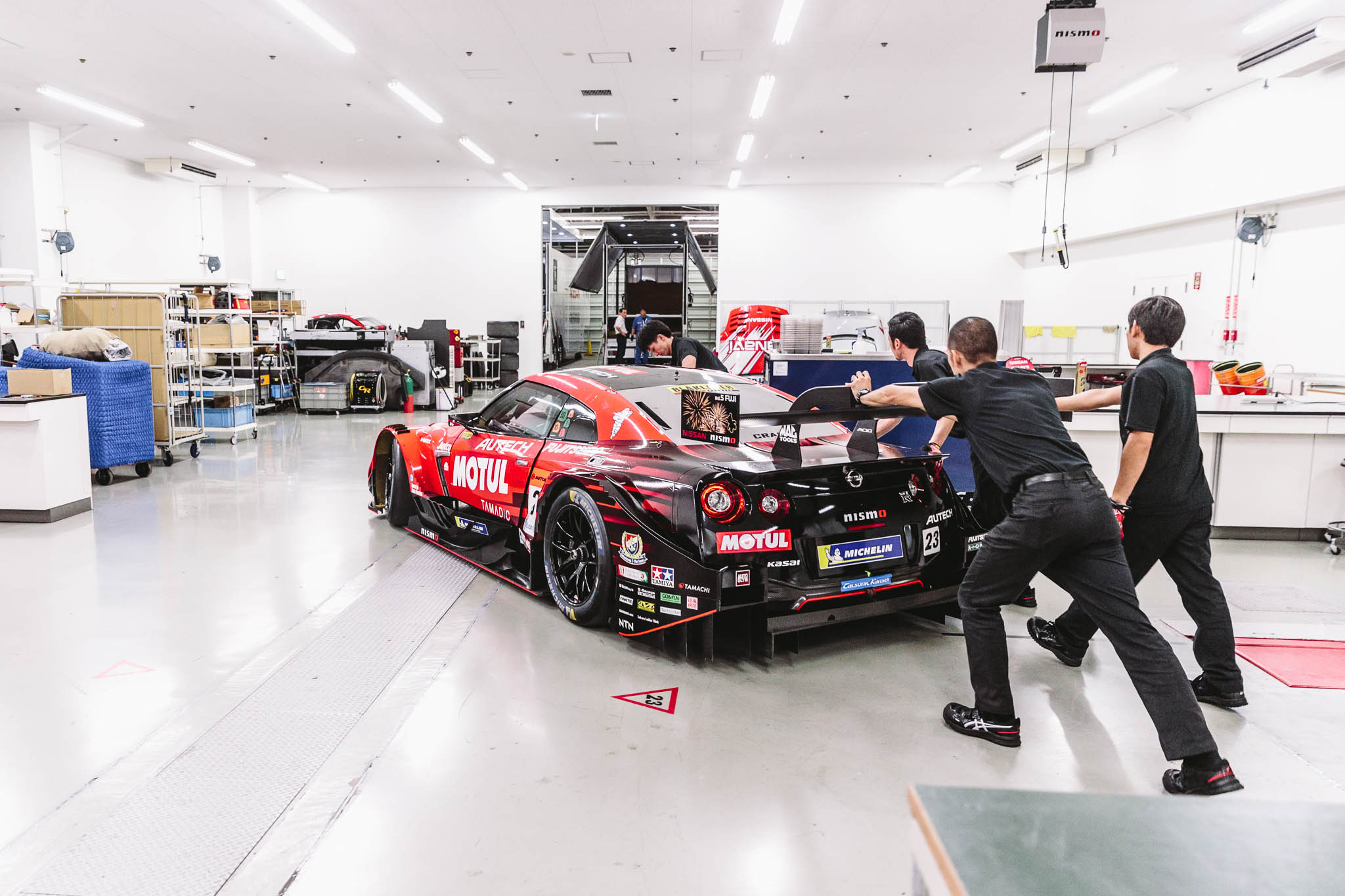 Visiting the heart of Nismo at the Omori factory