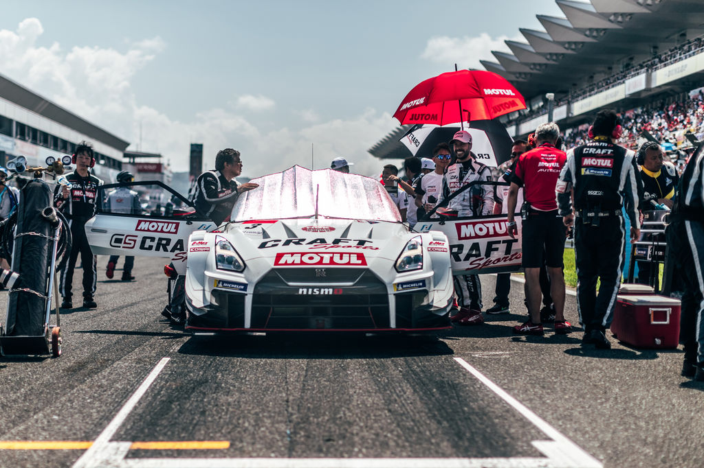 What's your favourite aspect of driving Super GT?