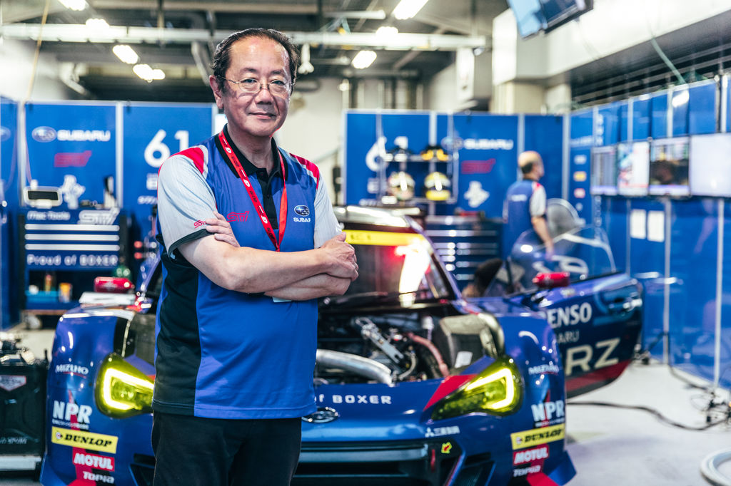 STI CEO Yasuo Hiraoka: The boxer engine is the spirit of the Subaru STI!