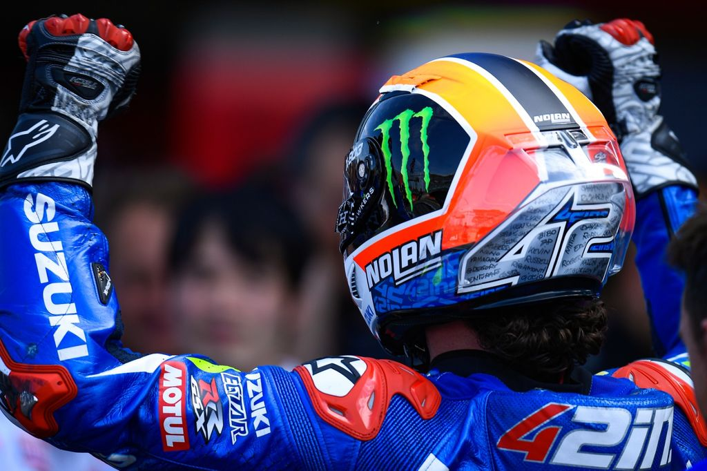 Rins sets MotoGP's British round alight!