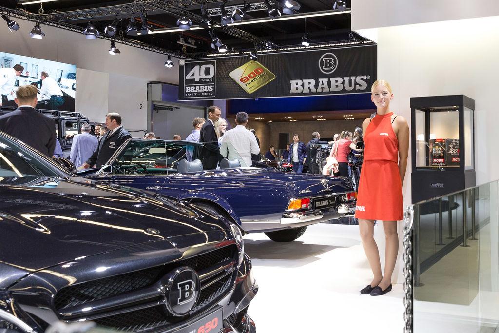 Long-term partnership with Brabus