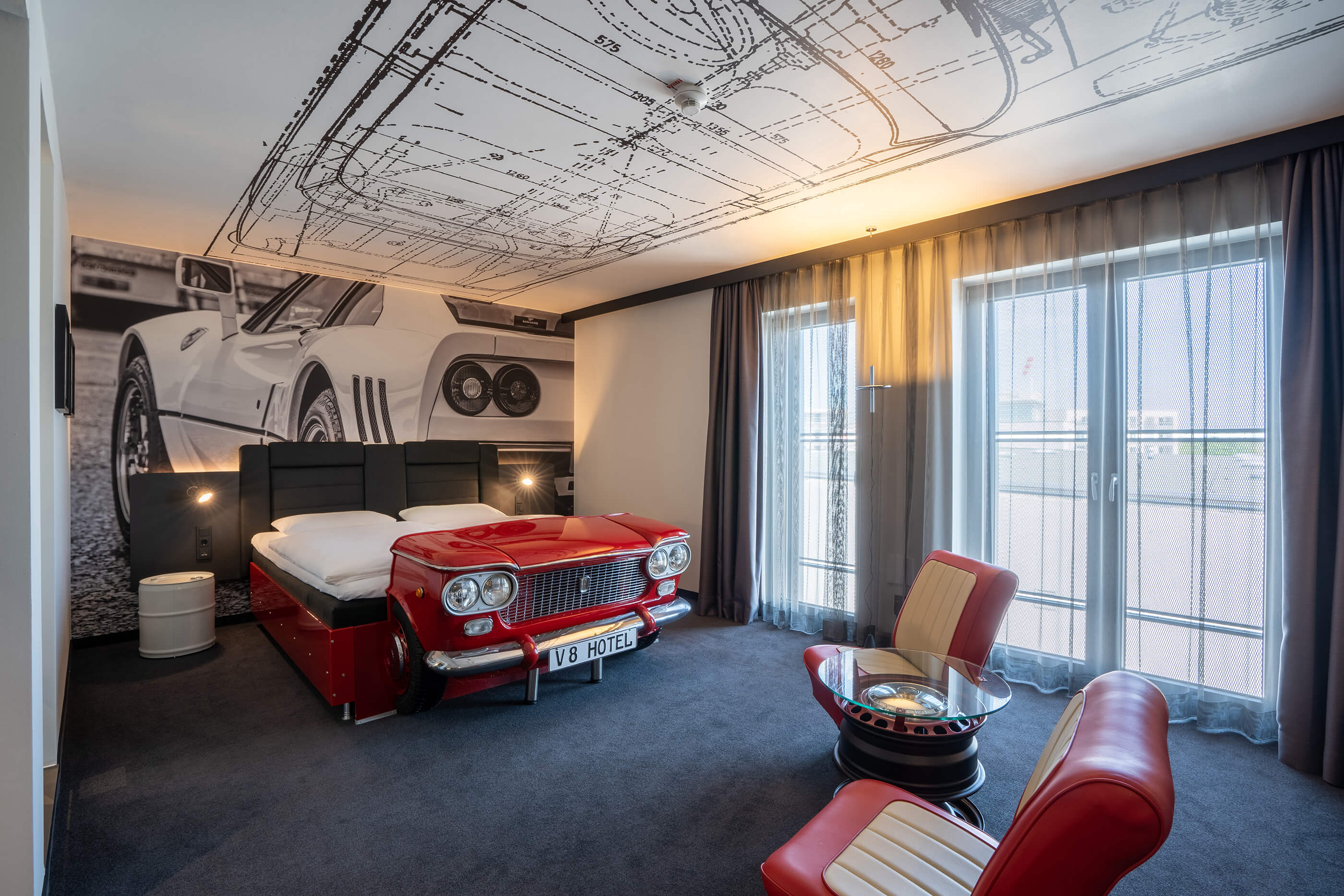 Win an overnight stay in V8 Hotel