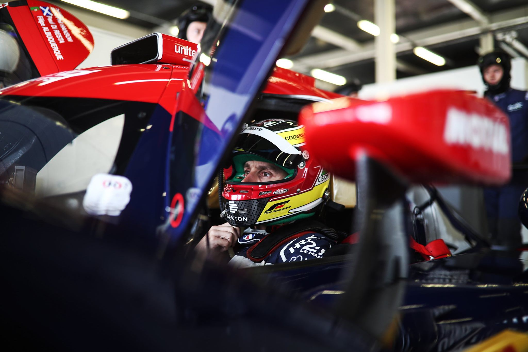 What's it like, driving an Oreca 07 LMP2 car? Is it comparable to the DTM car your raced in the past?