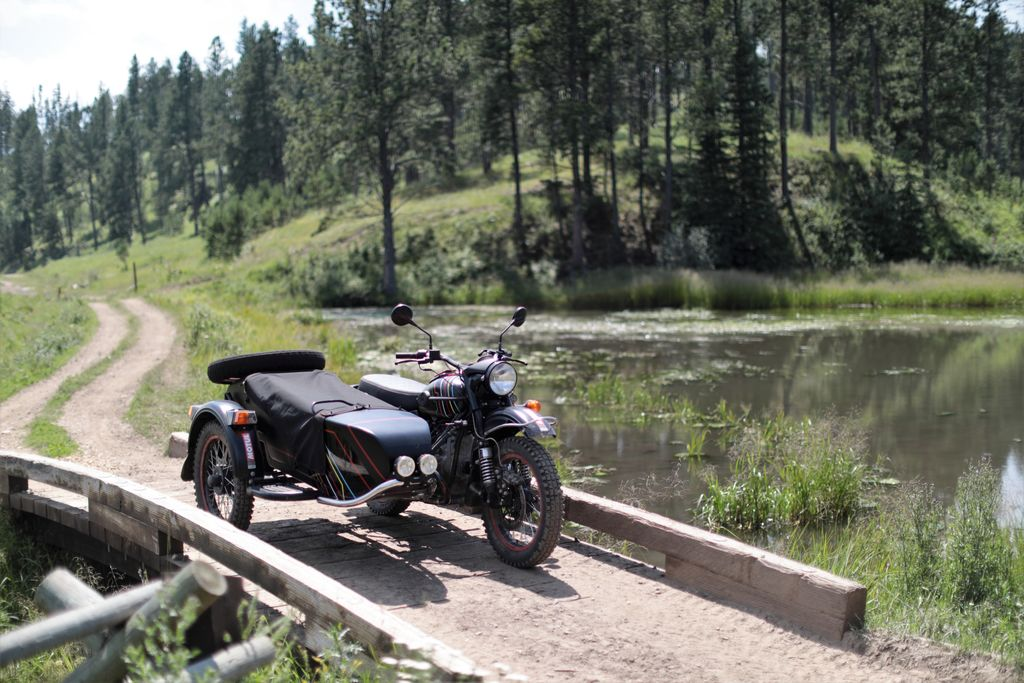 You had a very unique experience with the Ural in Sturgis, right?
