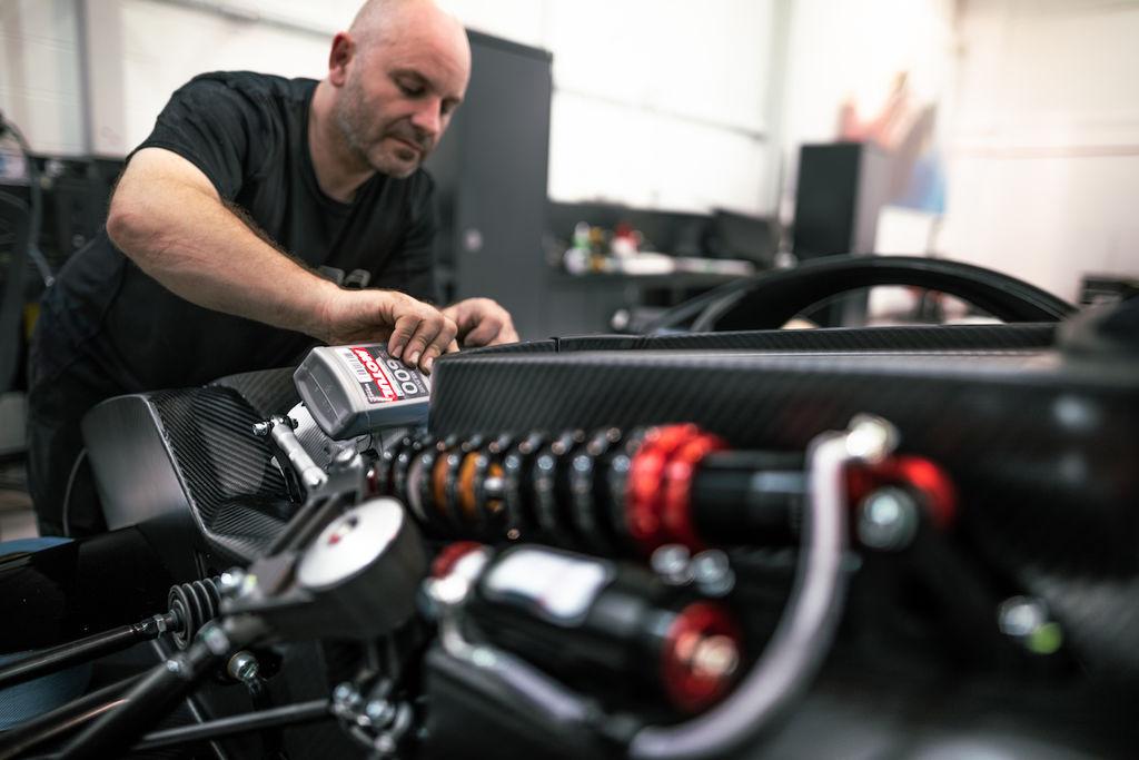 Formula 1 inspired hypercar territory