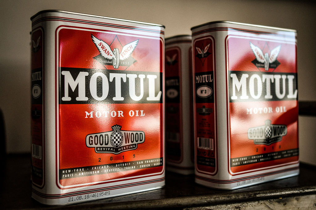Goodwood Revival и Motul снова в деле!