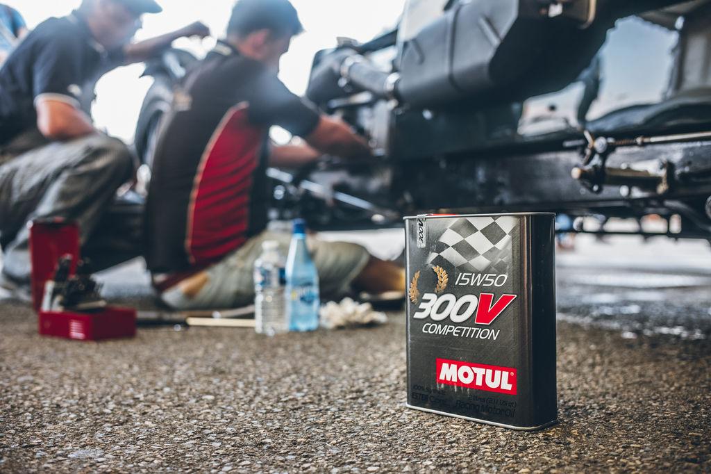 ¿Desarrollaste también un aceite de carreras específico para las carreras clásicas?
