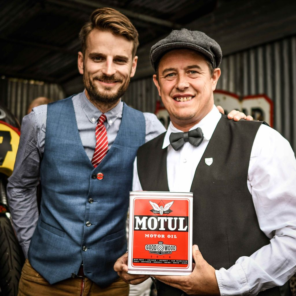 Romain, what makes the Goodwood Revival so special for Motul?