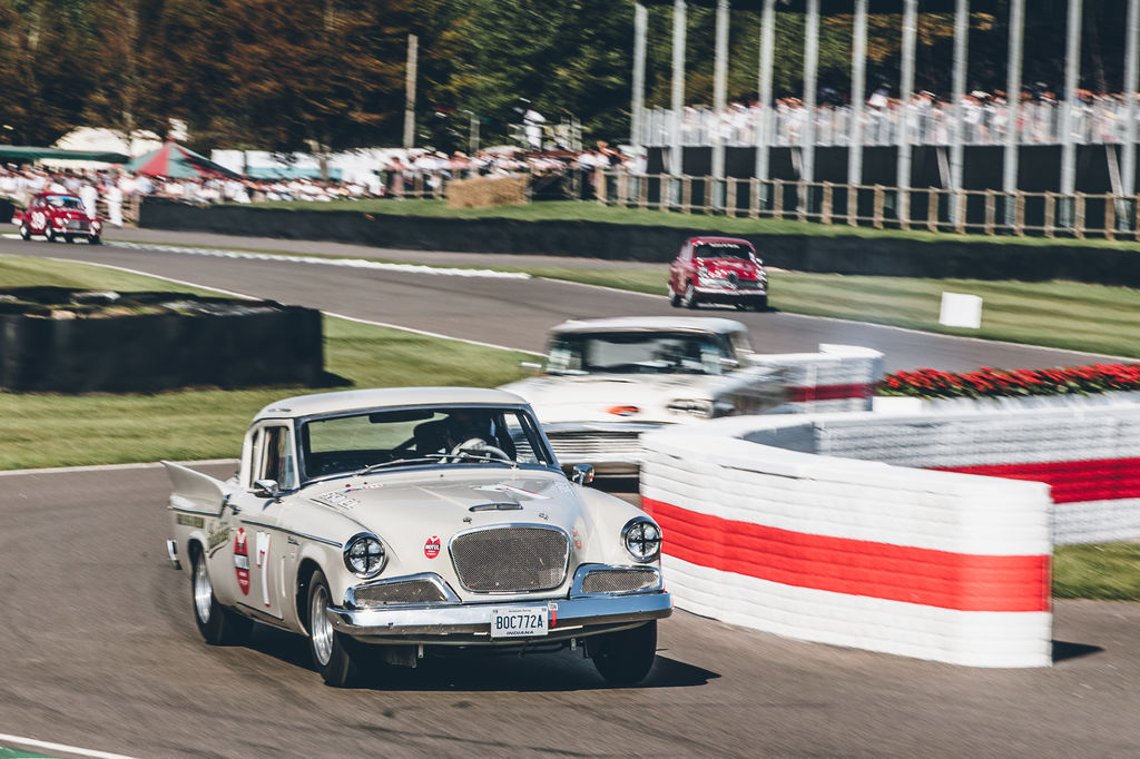 You did a lot of touring car racing, but you clearly have a passion for classic car racing, what is your favourite part about it?