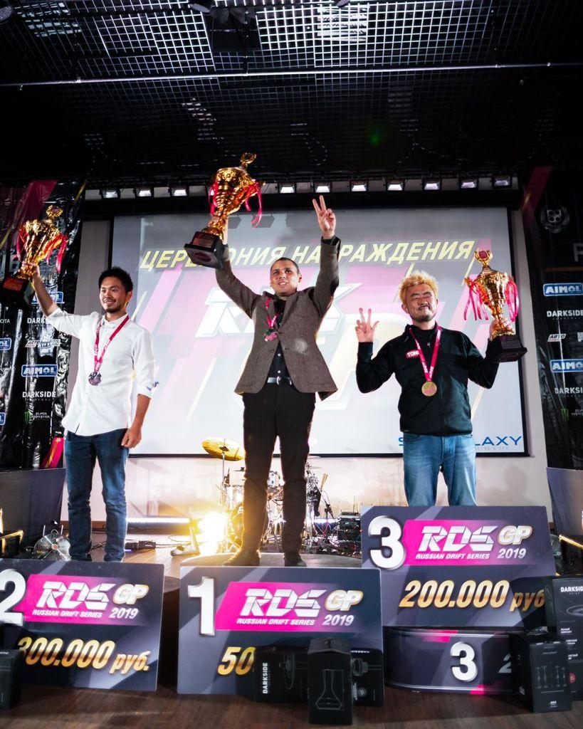 Атлет Motul Георгий Чивчян стал трехкратным Чемпионом Российской дрифт серии!