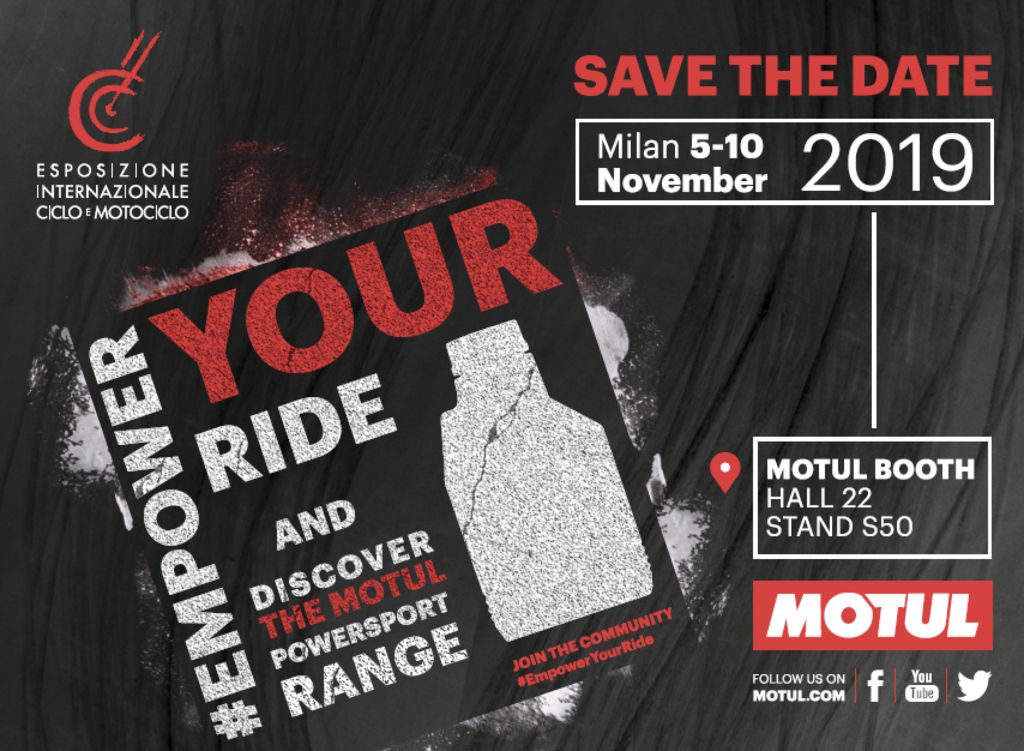 Motul all'EICMA 2019