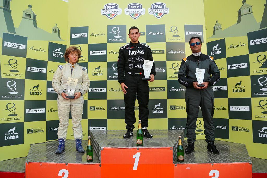 Jovem piloto beirão conquista título da Fórmula Ford na categoria Funspeed