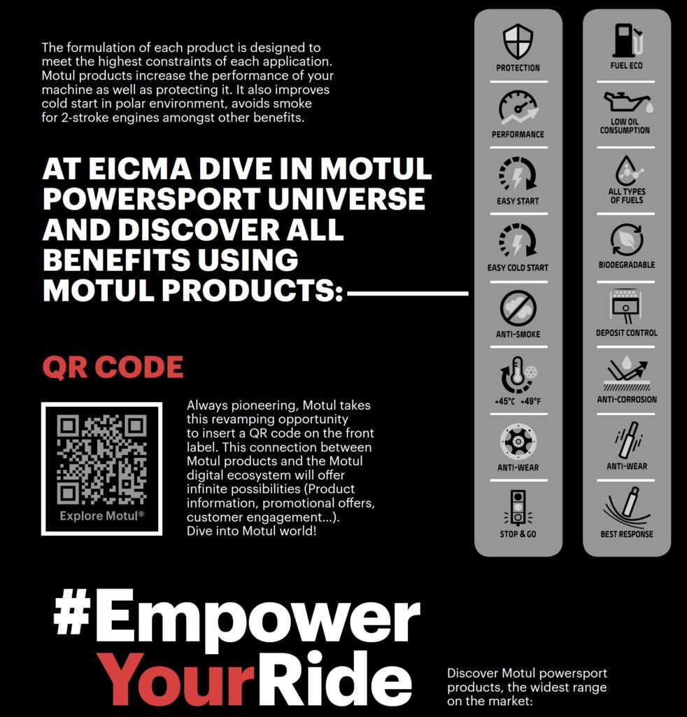 EMPOWER YOUR RIDE LAUNCHES AT EICMA