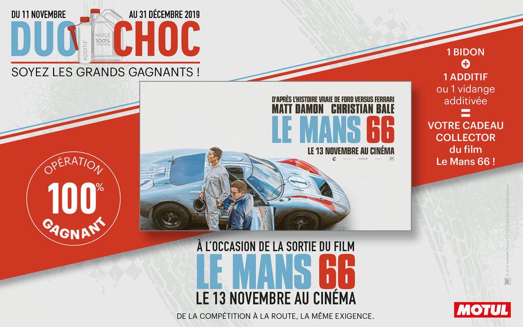 Motul & « Le Mans 66 » !