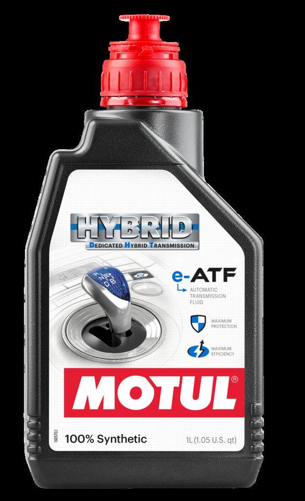 Motul представляет новую трансмиссионную жидкость Motul DHT e-ATF для гибридных автомобилей