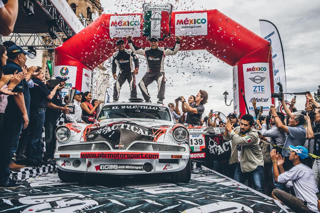 Ricardo Cordero and Marco Hernández, the winners of the 2019 Carrera Panamericana!