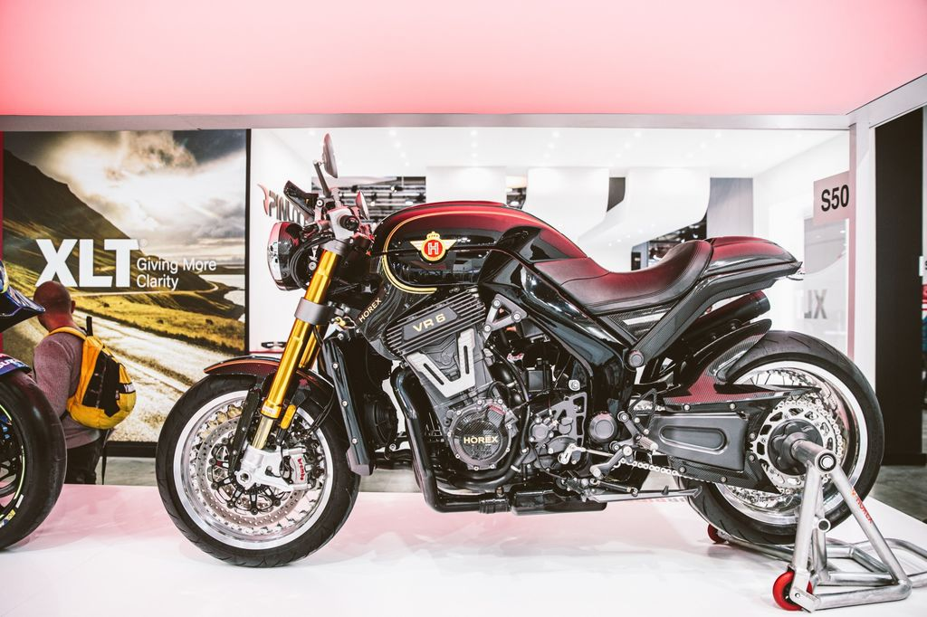 Who are the strong men behind the HOREX Motorcycles and what makes the bike this premium?