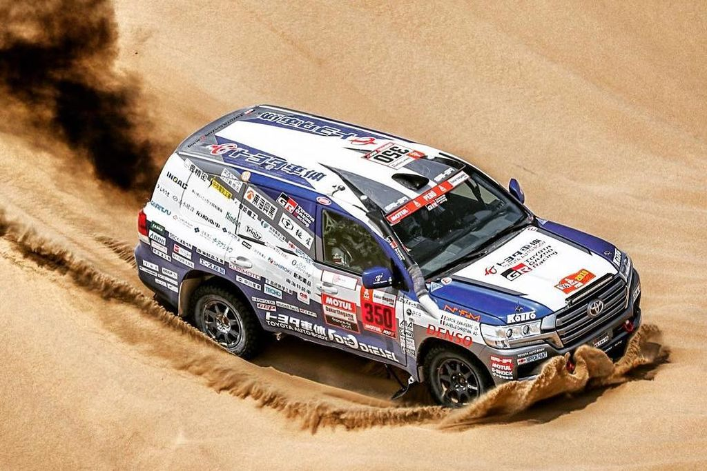 Christian Lavieille looks forward to a new Dakar adventure!