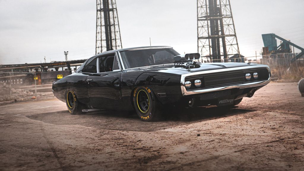 Samuel Hard puts the guts and heart from a Nascar racer inside the Fast & Furious Dodge Charger!